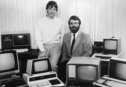 Twórcy firmy Microsoft.