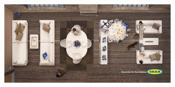 IKEA za misję wyznaczyła sobie, by zapewniać sprzęty budujące nastrój.