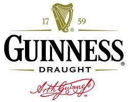 Na logotypie marki Guinness znajduje się herb Irlandii - złota harfa i kaligraficzny podpis Arthura Guinness'a.