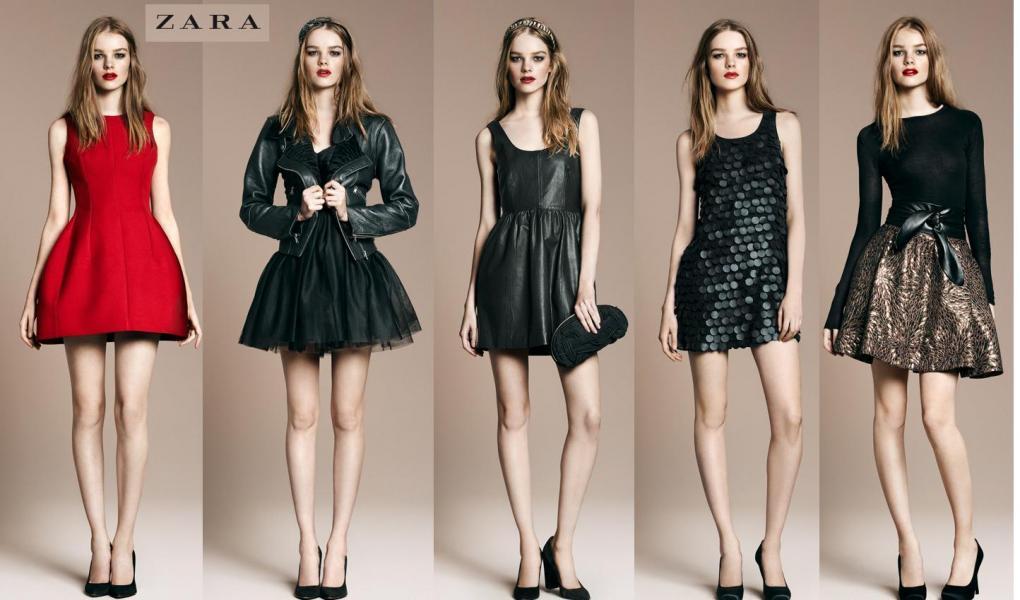 Ubrania zaprojektowane przez markę ZARA