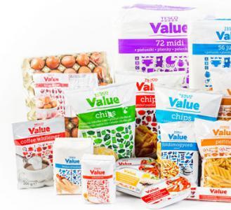 produkty Tesco value