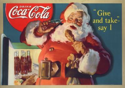 Święty Mikołaj Coca-Coli