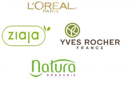 logo ziaja loreal yves rocher natura