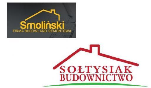 nazwiska w logo budowlanym